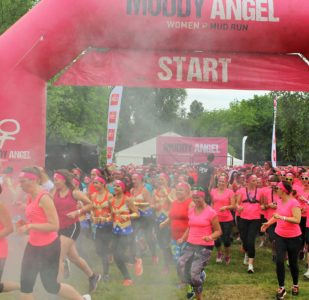 PARTICIPATION AU MUDDY ANGEL RUN