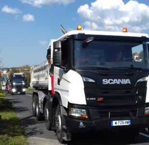 EXPOSITION : défilé des camions TSD